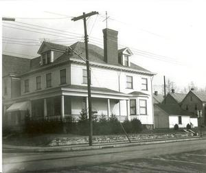 The original house prior to the funeral home