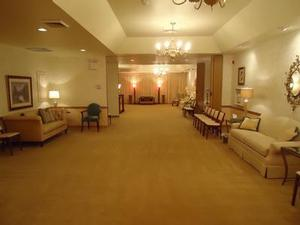 One of our spacious visitation rooms